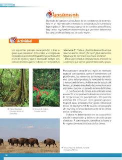 Apoyo Primaria Geografía 5to. Grado Bloque II Lección 3 Los diferentes climas del mundo