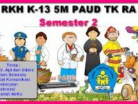 RPPH k13 5M PAUD TK RA Semester 2 SEMUA TEMA