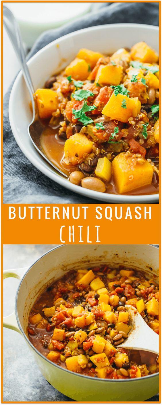 squash chili -