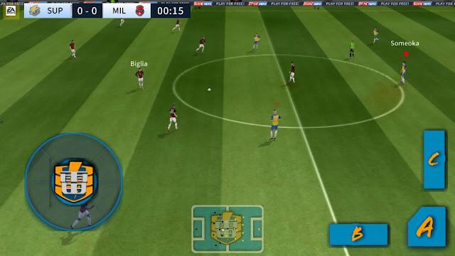 تحميل دريم ليج سوكر بمود ابطال الكرة dream league soccer