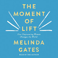 review of Moment of Lift written and read by Melinda Gates