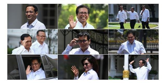 Inilah 30 Tokoh yang Telah Dipanggil dan Bertemu Jokowi di Istana