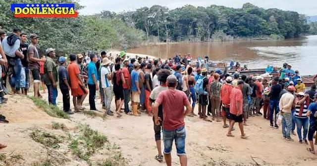680 mineros fueron rescatados en Bolívar tras permanecer secuestrados por el Tren de Aragua