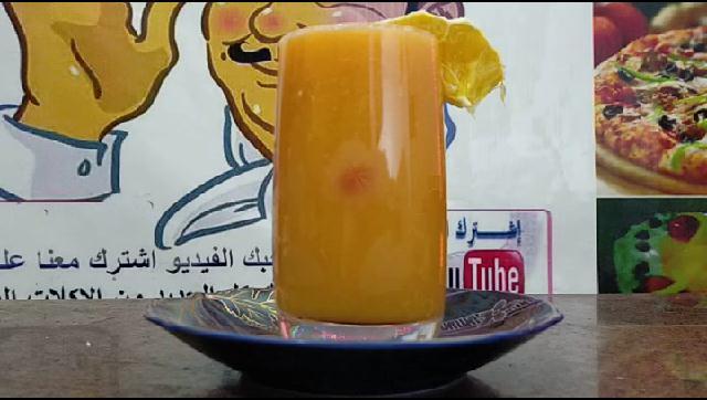طريقة عمل عصير برتقال بالجزر الشيف محمد الدخميسي