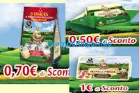 Logo Buoni sconto Parmareggio Snack, Burro e Petali di Parma