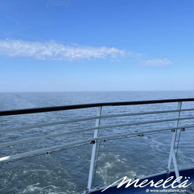 Silja Serenade kesä merellä
