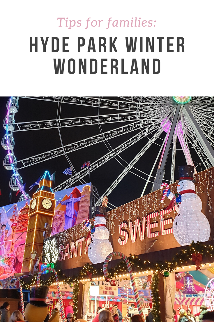 Top tips on how to have fun and survive a hectic day out with kids at Hyde Park Winter Wonderland.
