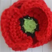 Amapolas a Crochet