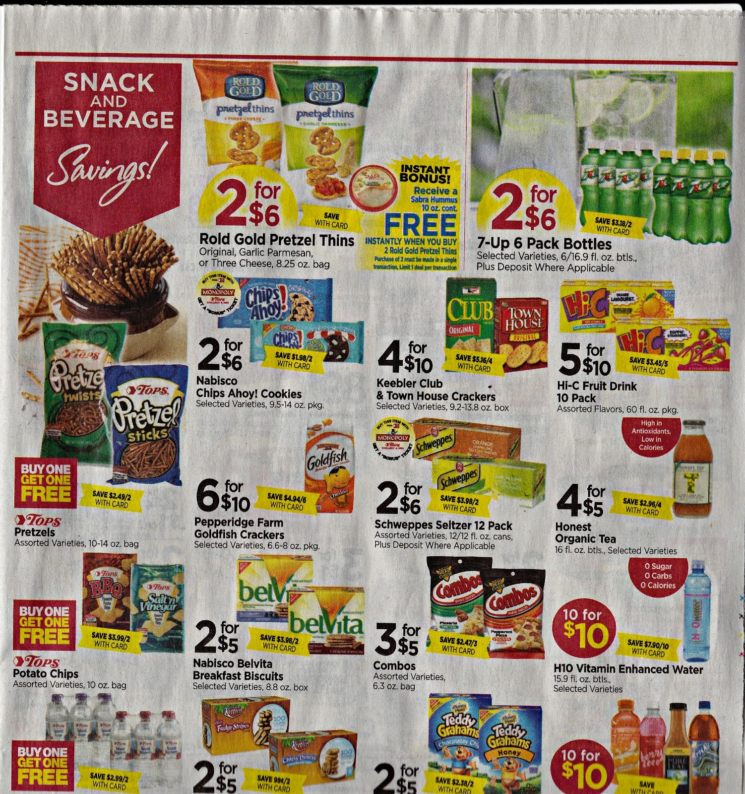 Tops markets ad
