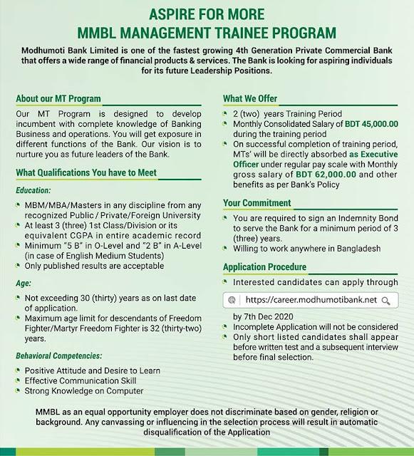 Management-Trainee-Officer-Modhumoti-Bank-2020