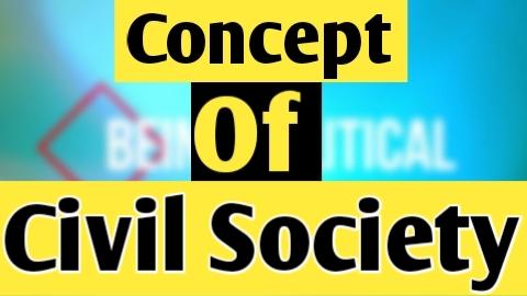 Concept of Civil Society |  Civil Society's role in good governance