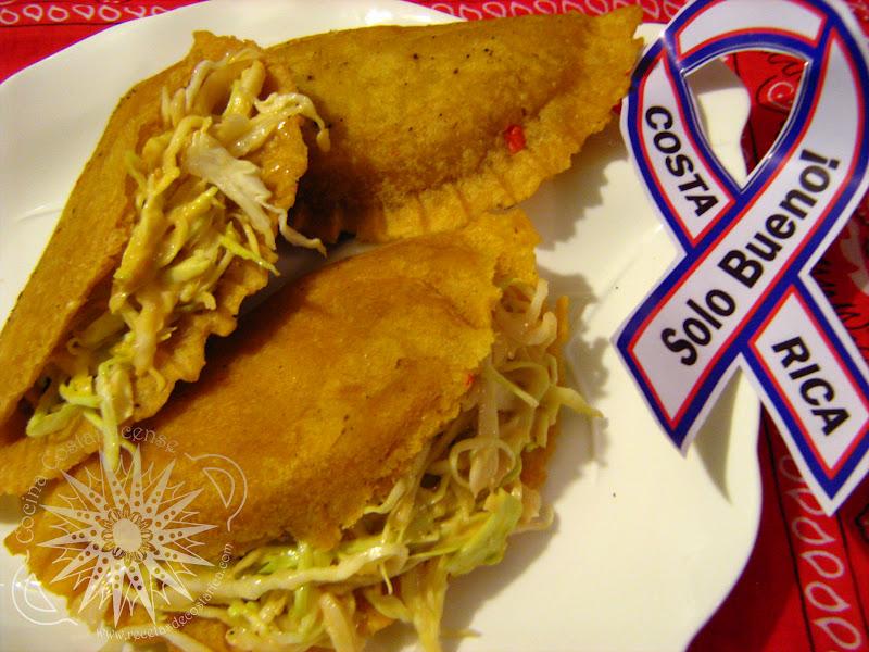 Cocina costarricense empanadas arregladas