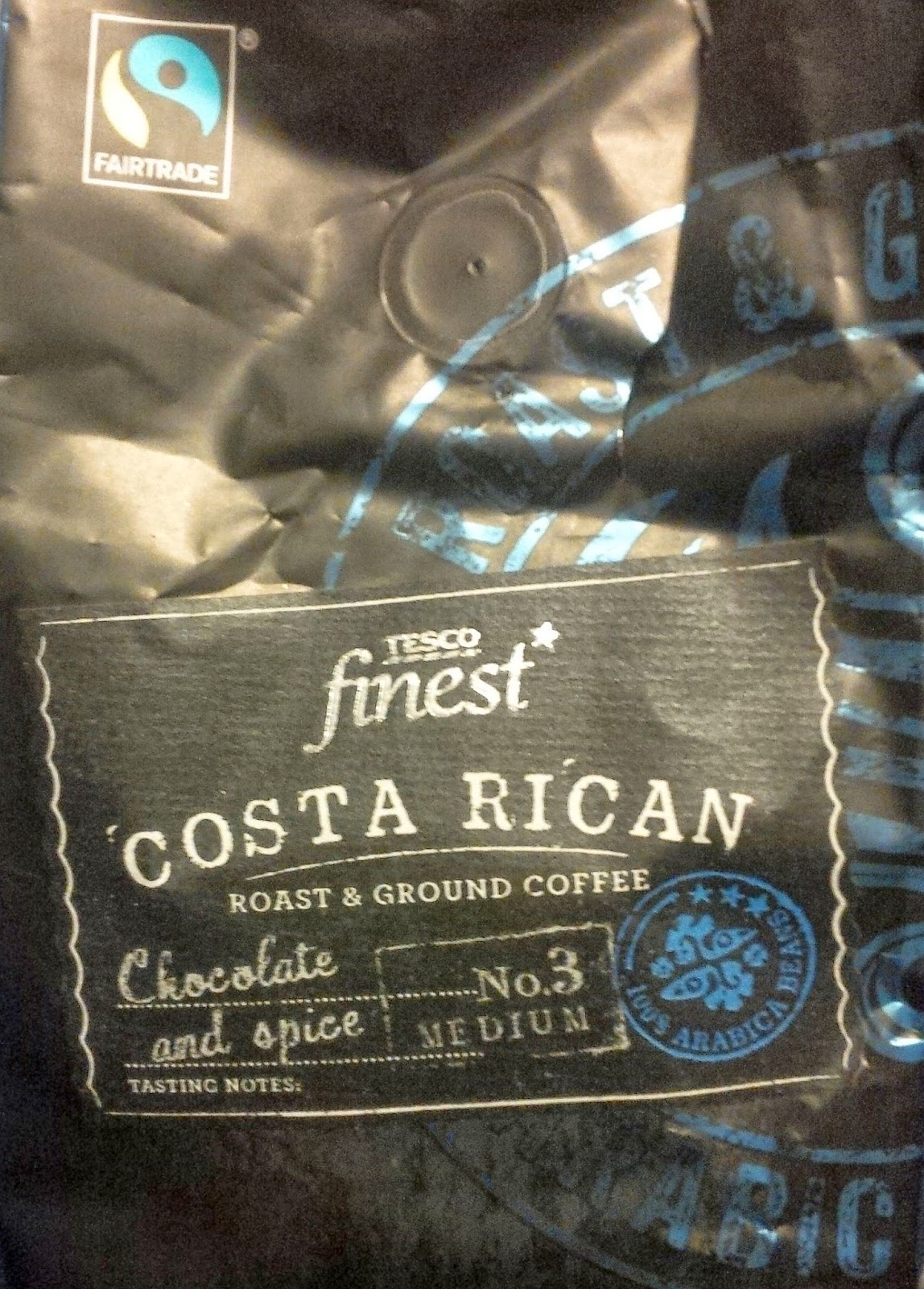 Smell The Tea And Coffee Tesco Finest Costa Rican Coffee