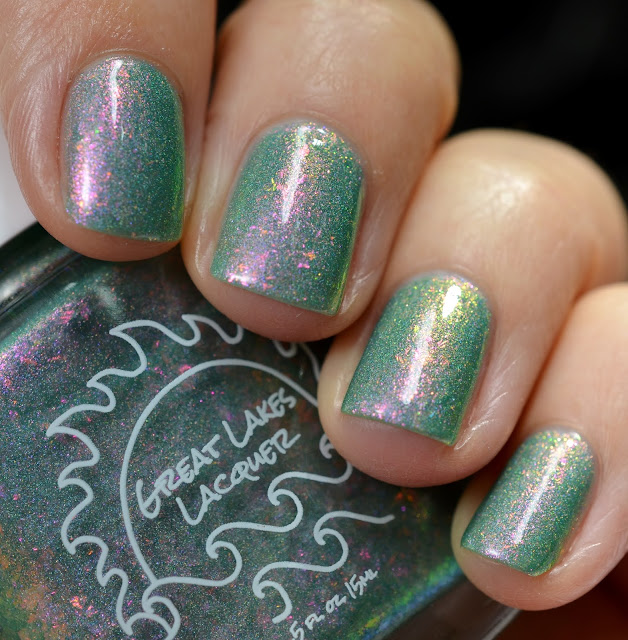Great Lakes Lacquer Love Wins swatch