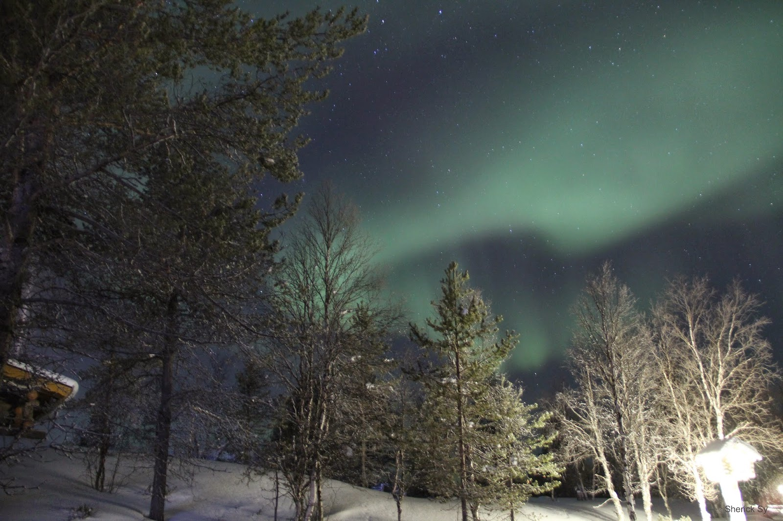 Northern Lights, Arctic Circle, Finland