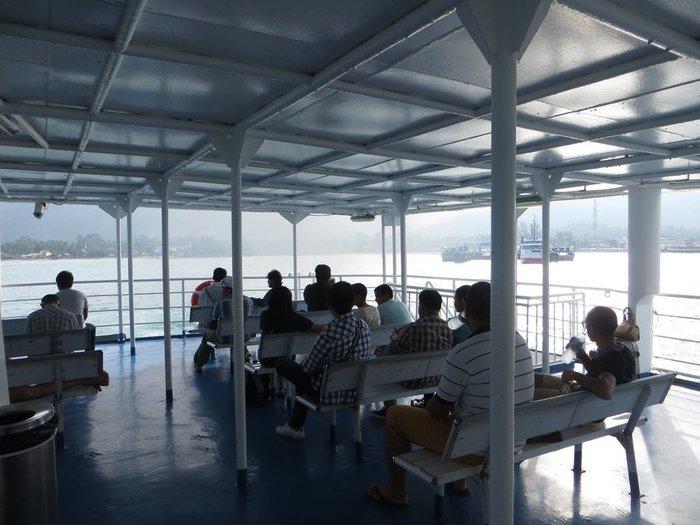 Открытая палуба для пассажиров