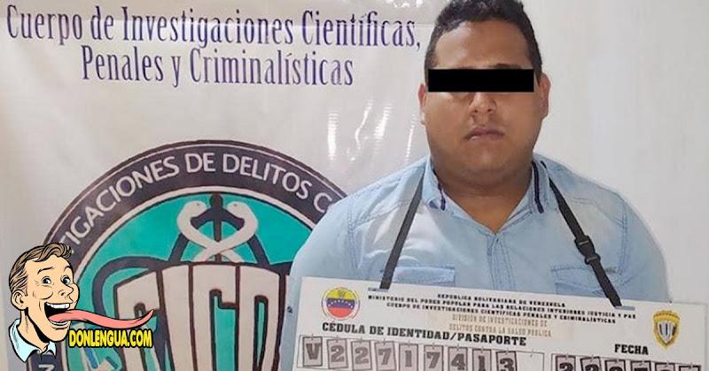 Estafador detenido por vender pruebas rápidas del Covid en Caracas