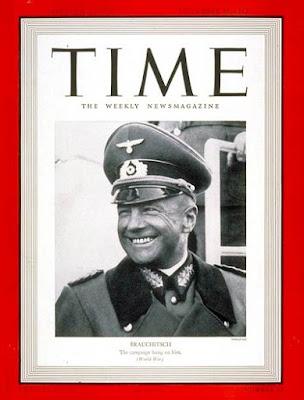 Το εξώφυλλο του περιοδικού ΤΙΜΕ της 25ης Σεπτεμβρίου 1939
