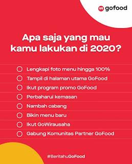 Tips Tahun 2020 Supaya Orderan GOFOOD Naik 1