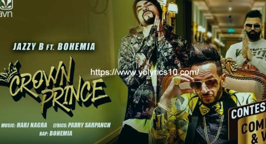 CROWN PRINCE Lyrics - Ft. Bohemia