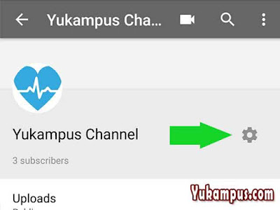 ganti nama deskripsi channel youtube di hp