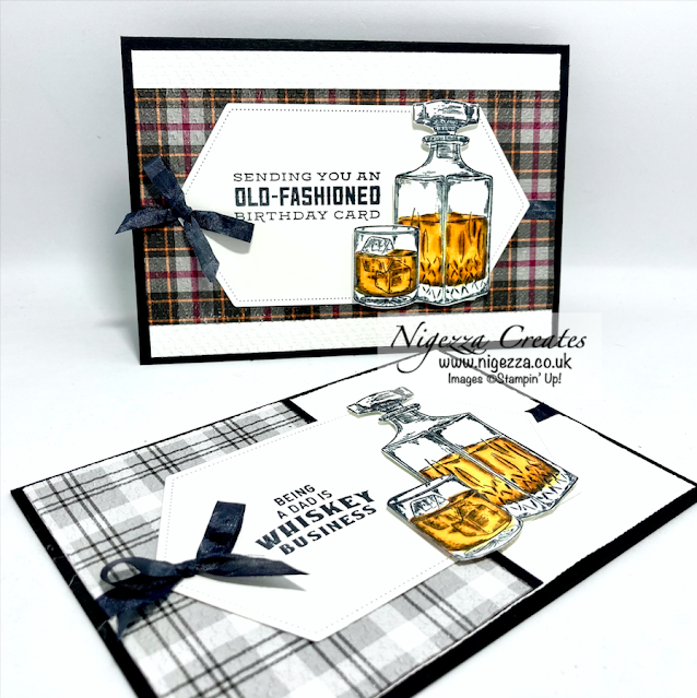 Old Fashioned Whiskey Card