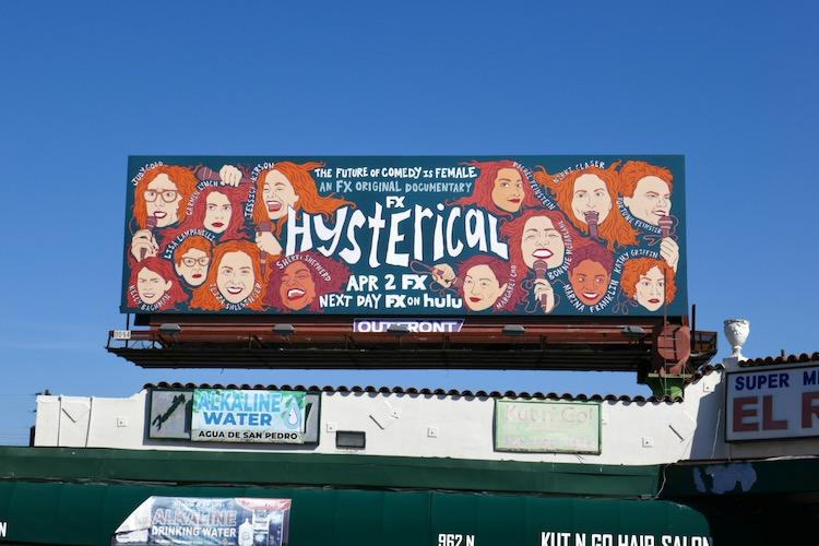 Hysterical FX documentary billboard