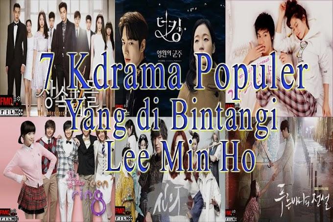 7 KDrama Populer yang Dibintangi Lee Min Ho , yang Wajib jadi List Tontonanmu