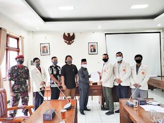 Pertemuan Dengar Pendapat Pemuda Muhammadiyah Jepara Dengan DPRD Kab Jepara