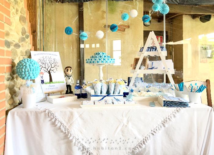 Mesa dulce sencilla de comunión by Habitan2 | Papelería y eventos