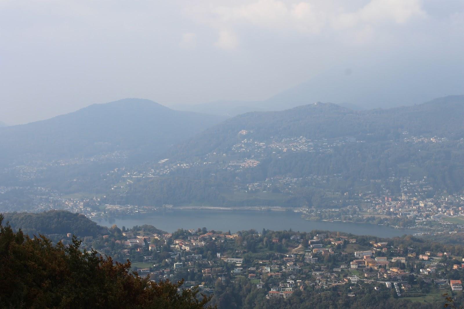 Vista do Monte San Salvatore - Lugano
