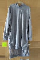 Vorderseite: Yidarton Frauen Lange Aermel Double Split Hoodie Pullover Pockets Sweater Kapuzenpullover