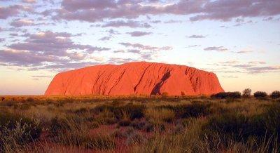 Uluru, Northern Territory, Australia. Photo by Loire Valley Time Travel.
