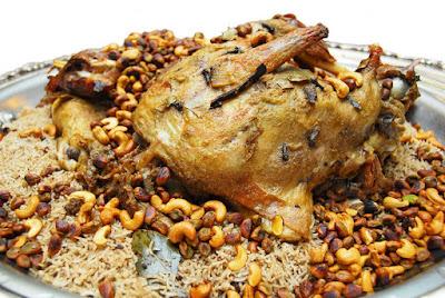 أوزي الدجاج الكويتي