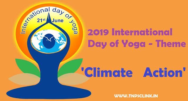 International Day of Yoga 21 June THEME