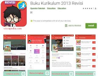 Aplikasi Android Buku Kurikulum 2013 Revisi Terbaru | Wiwapedia