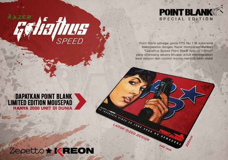 Ayo Beli Mousepad Murah Special Edition - Goliathus Speed Point Blank