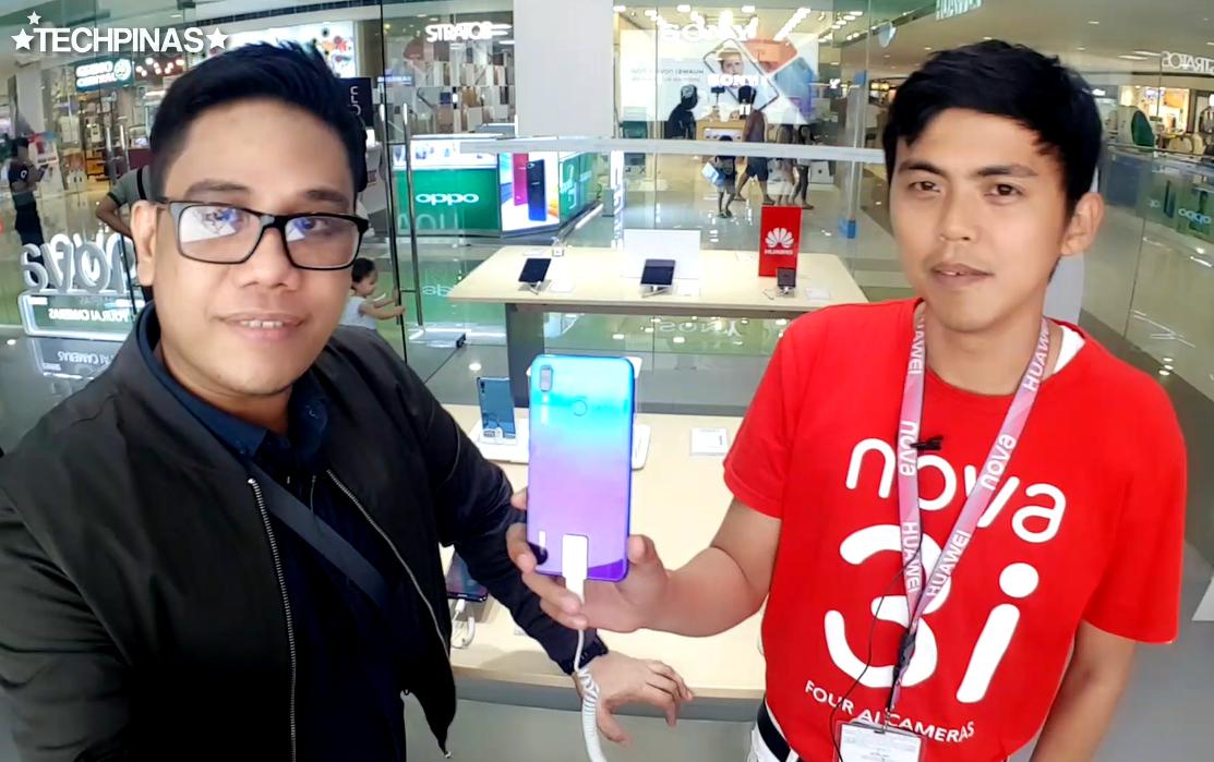 SM City Sucat, SM Cyberzone, Huawei Nova 3i Philippines