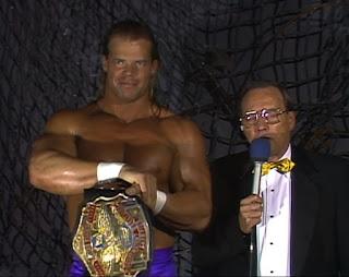 WCW Halloween Havoc 1989 -  Gordon Sollie interviewed Lex Luger about his match with Brian Pillman
