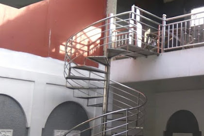 Jasa Tangga Putar Stainless di Jakarta Bogor Depok Tangerang Bekasi Bandung dan Cirebon