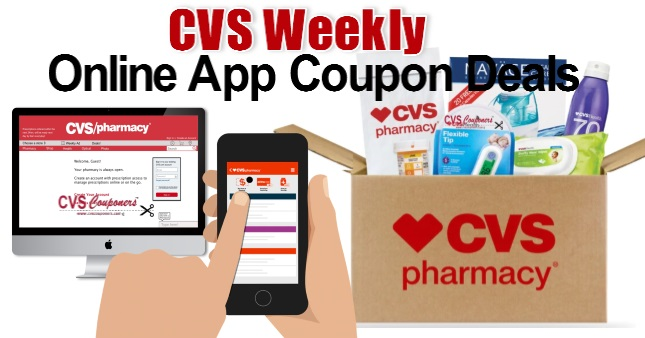 CVS Online App Coupon Deals