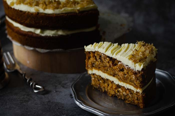 Recipe for carrot cake