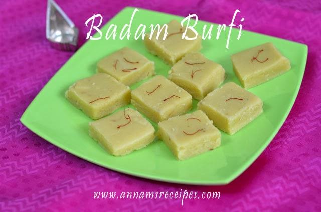 Badam Burfi
