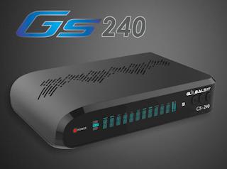 Resultado de imagem para GLOBALSAT GS 240