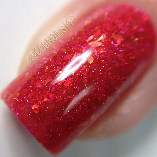 Glam Polish-Peachy Keen, Jelly Bean