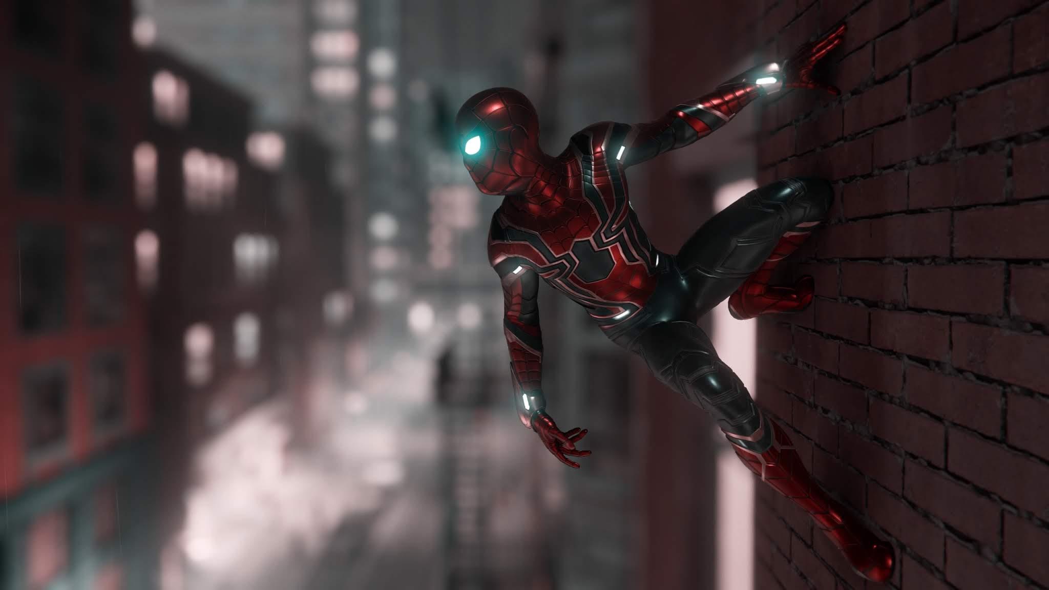 Marvel Spiderman Ps4 Wallpaper