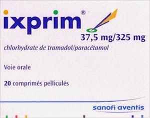 Mapharmacie: IXPRIM 37,5 mg/325 mg