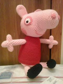Peppa Pig - free crochet pattern - Amigurumi Today | 320x240