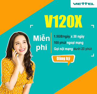Gói V120X Viettel