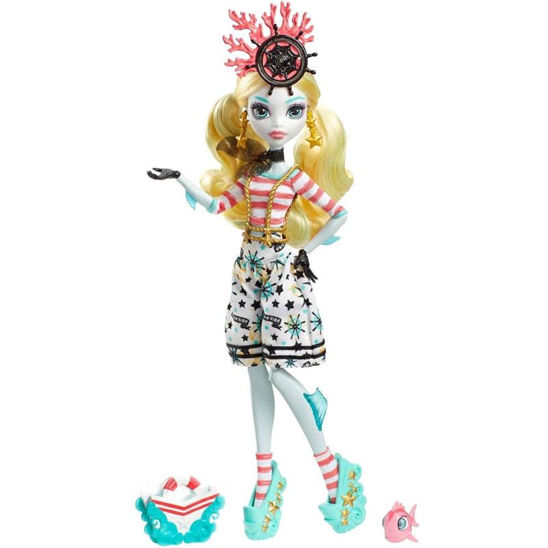 MH Shriek Wrecked Dolls   MH Merch Монстр Хай Куклы Лагуна Блю